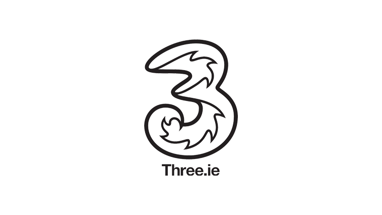 Three Ireland logo